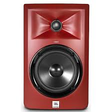 speakers guitar center. jbl lsr305 5 in. limited edition powered studio monitor - matte red speakers guitar center