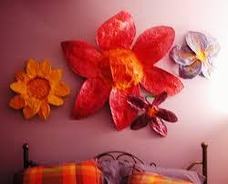 Flower Paper Mache Happy Giant Paper Mache Flowers W Short Tutorial Childrens Art