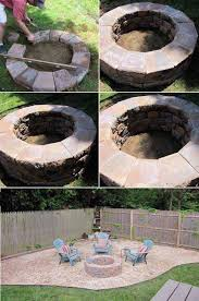 16 fast and easy to realize diy fire pit area s81 area
