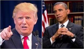 Image result for obama v trump