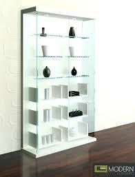 glass shelving unit white lacquer chrome bathroom units living room lacqu
