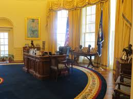 bush oval office. The Replica Of Oval Office Is Most Popular Exhibit At Clinton Presidential Center In Little Rock, Arkansas. Bush N