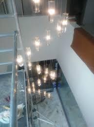 spiral staircase lighting. Modern Hanging Chandelier Staircase Crystal Spiral Lighting LED Chandeliers Ladder Light Suspension Lamp LED-in From Lights