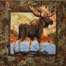 Fusible Applique Quilt Pattern & Moose Fusible Applique Quilt Pattern Adamdwight.com