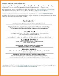 Resume With Branding Statement Branding Statement Resume Examples Londabritishcollegeco 22