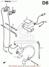 Cdi unit ignition coil schematic