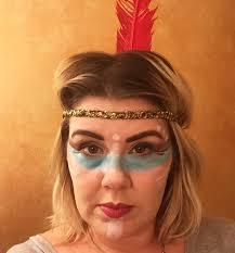 indian costume makeup