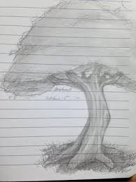 anoter tree doodle doodles lead shading sketch shades