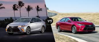 2016 Toyota Camry vs 2015 Toyota Camry