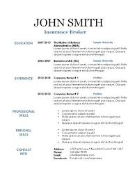Printable Resume Template Printable Resume Free Resume Templates