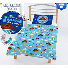hey duggee kids duvet cover single junior bed squirrel club bedding sets for boys toddlers cot