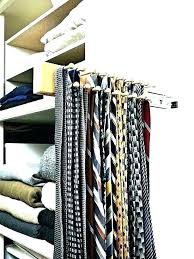 closetmaid impressions closet tie rack closet tie rack amazing belt racks scarf custom in 5 decor