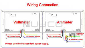 complex ac amp meter wiring diagram digital ammeter ac 0 ~ 30a blue Ammeter Diagram at Amp Meter Shunt Wiring Diagram