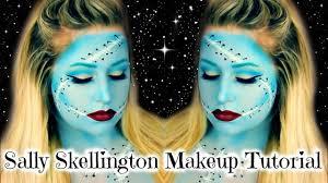 sally skellington makeup tutorial ideas of sally nightmare before makeup kit