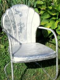vintage iron patio furniture. Old Metal Chair With Primer Vintage Iron Patio Furniture A