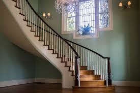 Craftsman Staircase double open curved staircase artistic stairs 1256 by xevi.us