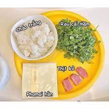 Phô mai tách muối hữu cơ Hàn Quốc cho bé ăn dặm từ 6m+