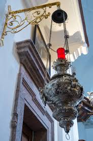 ruhpolding bavaria exploring culture searching light the eternal flame near the main altar demanded closer examination richly crafted from silver it