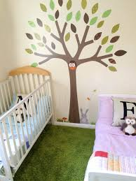 woodland friends tree wall sticker