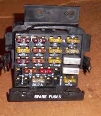 fiero fuse box wiring diagram libraries 85 86 87 88 pontiac fiero se gt dash fuse box w fuses on popscreen85 86