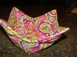 Microwave Bowl Holder Pattern Custom Microwave Bowl Holder Pink Paisley Print Bowl Cozy Bowl Potholder