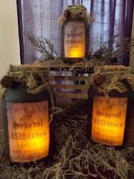 Primitive Mason Jar Lighting