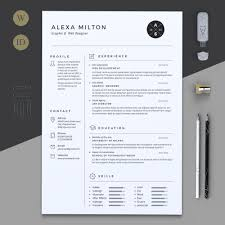 Pages Resume Templates Best Page Resume Templates Epic Page Resume