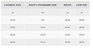 Lane Bryant Size Chart Lane Bryant Cacique Womens Sassy Cotton String Bikini Panty Underwear 12 Pack