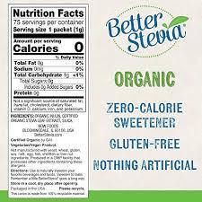 NOW Foods, Certified Organic <b>Better Stevia</b>, <b>Zero-Calorie</b> ...