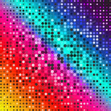 Background For Computer Dark Red Purple Blue Color Light Abstract Pixels Technology