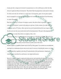 computer essay topics 3d computer modelling and animation essay example topics