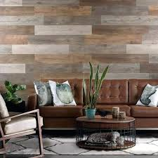 l and stick accent wall salvaged pallet wood look l and stick wall planks l and