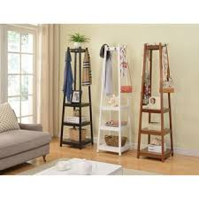 Overstock Coat Rack Shop for Vassen Coat Rack w 100Tier Storage Shelves Get free 17
