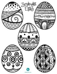 Small Picture Ready for Easter Zendoodle Easter Egg Coloring Pages Working Mother