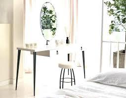 Modern White Bedroom Vanity Contemporary Bedroom Vanity Set Table ...