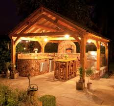Outdoor Kitchen Fireplace 21 Cool Asian Outdoor Design Ideas Dining Sets Shelters And Awesome