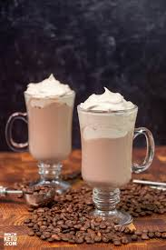 Pour the cream in a small sauce pan and heat gently while stirring until it's frothy. Keto Whipped Coffee Cappuccino Recipe How 2 Do Keto