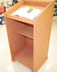 Podium Size Chart Homemade Wood Lectern Podium 7 Steps With Pictures