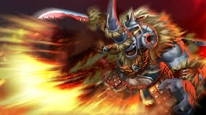 dota 2 magnus spear monsters warriors fantasy games