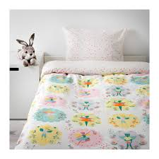 LATTJO Quilt cover and pillowcase Fairy/light pink 150x200/50x80 ... & IKEA LATTJO quilt cover and pillowcase Easy to keep clean; machine wash hot  (60 Adamdwight.com