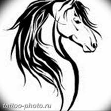 тату лошадь фото