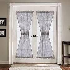 door blinds. Lush Decor Antique Door Panel 4-Piece, 42-Inch By 72-Inch, Gray Blinds