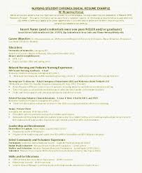 Entry Level Nursing Resume Examples Examples Of Resumes Resume