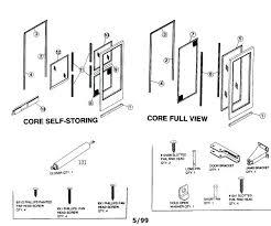 O Storm Door Handle Parts Medium Size Of Riveting Forever  Doors