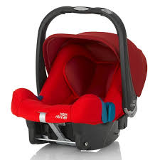 britax baby safe plus shr ii group 0 car seat flame red new