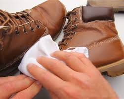 how to care for leather boots step 6