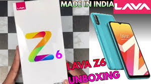 Lava Z6 Mobile Unboxing & First Look ...