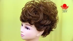 ショートヘアアレンジ4 モヒカンアップ Zenのヘアセット52 Mohawk