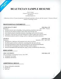 Cosmetology Resume Template Impressive Resume With Picture Template Cosmetology Resume Templates Resume