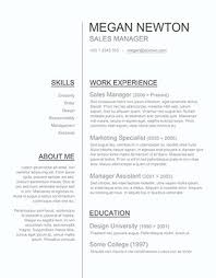 Resume Template In Word